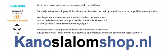 Advertentie Kanoslalomshop